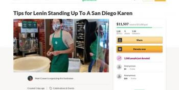 Tips Pour In For Starbucks' Barista For Standing Up To A San Diego Karen