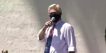 Scottsdale City Councilman Leads Anti-Mask 'I Can't Breathe!' Rally