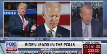 Stuart Varney Blames Biden's Good Polls For Market Crash