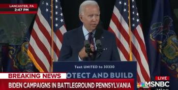 Biden Scorches Trump's ACA Cruelty: 'Stop Stealing Americans' Peace Of Mind'