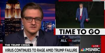 Chris Hayes Says What We Are All Thinking: It Is Time For Donald Trump To Resign