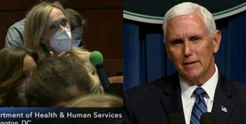 Mike Pence Refuses To Answer Question On Campaign Contributing To Spread Of Coronavirus