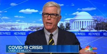 Hugh Hewitt Invited On Meet The Press To Lie About COVID Numbers