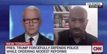 Daily Beast: CNN's Van Jones Worked On Trump Police Reform He Praised