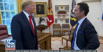 Trump Misidentifies Oval Office Sculpture While Saying Statues Vital To Learning History