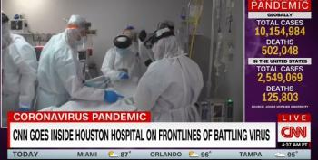 CNN Goes Inside Houston Hospital On Frontlines Of Coronavirus Pandemic
