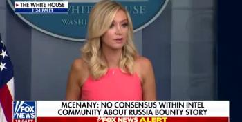 Kayleigh McEnany Confirms Russia Is Off The Hook