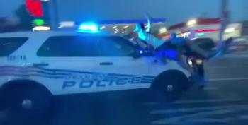 'He Just Floored It': Detroit Police SUV Plows Through Protesters