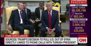 Bernstein: Trump Phone Calls With Foreign Leaders Alarmed US Officials