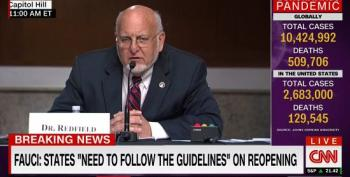 CDC Director: Vaccine Plan Will Be Available In The 'Weeks Ahead'