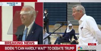 Joe Biden Takes Question On 'Cognitive Decline,' Turns It Back On Trump