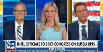 Fox And Friends Does Its Duty: Defend Trump's Incompetence On Russia Bounty