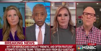 Al Sharpton: GOP's 'Shotgun Wedding' To 'Fat Elvis' Trump To End Soon