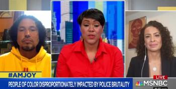 Maria Teresa Kumar Details Police Brutality Against The Latinx Community On AM Joy