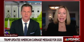 On Morning Joe, A Discussion Of Trump's New 'American Carnage'