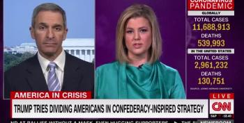 Ken Cuccinelli Acts Cagey About Confederate Flag Waving In CNN Interview