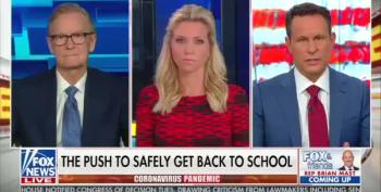 Fox & Friends Host Argues Schools Should Reopen To Teach Kids That Life Is Full Of Risks