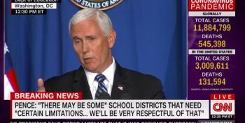 Pence: CDC's Guidance Unnecessary When It Comes To Children's Safety At School