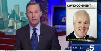 John Cornyn Still Claiming Children Don't Get COVID-19