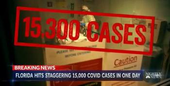 Florida:  Record 15K COVID Cases In One Day
