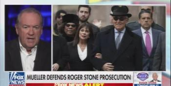 Mike Huckabee Praises Roger Stone Commutation