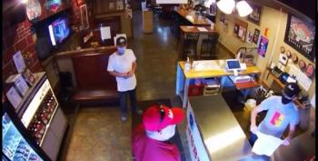 Man In MAGA Hat Flashes His Gun After Being Asked To Wear A Mask