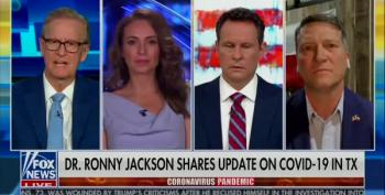 Ronny Jackson Claims Masks 'Are A Personal Choice'