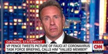 Chris Cuomo Furious That Trump Is Selling Beans From The Resolute Desk