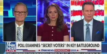 Fox News Promotes Idea That 'Super Secret Trump Voters' Are Skewing Polls
