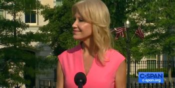 Trump Forces All Kids Back Into School, But Kellyanne Conway Says Barron Has A Choice