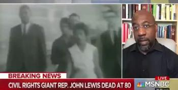 Rev. Warnock: You Can't Honor John Lewis While Trying To Block Voting Rights