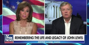 Lindsey Graham Calls BLM America Haters When Asked About Passing Of John Lewis