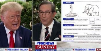 Chris Wallace Challenges Trump On Mental Acuity Test He Brags About Passing: 'Well It's Not That Hardest Test'