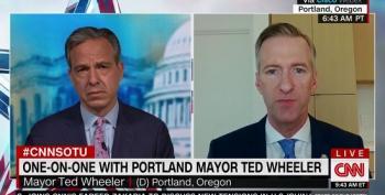 Portland Mayor Blasts 'Abhorrent' Trump Administration Policing Tactics