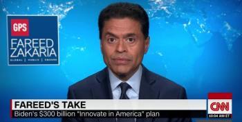 Fareed Zakaria: Biden's 'Build Back Better' Economic Plan Much Better Than Trump's