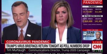 Brianna Keilar Expertly Shreds Trump Flack's Dangerous Lies, Then Cuts Him Off