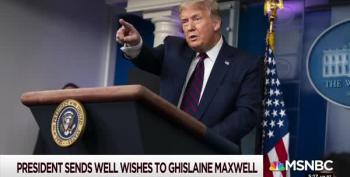 What Was Trump Saying To Ghislaine Maxwell?