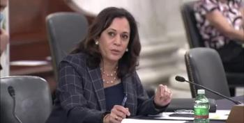 Sen. Kamala Harris Roasts Terrified Trump Nominee With Simple Questions