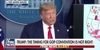 Trump Cancels Jacksonville RNC