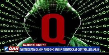 OAN Airs Segment Calling QAnon 'A Widely Accepted System Of Beliefs'