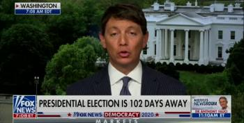 Fox And Friends Can't Defend Fox's Own Poll Showing Trump Losing