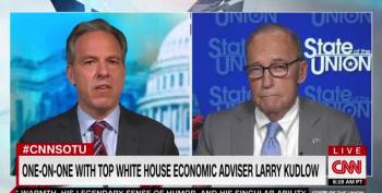 White House Economic Adviser Kudlow: The Economy Is Going North, Not South