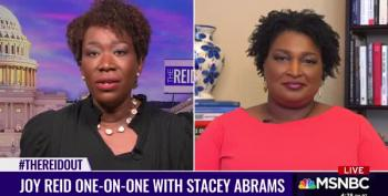 Stacey Abrams Schools Tom Cotton About 'Slavery As Necessary Evil'