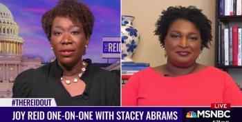 Stacey Abrams Schools Tom Cotton: 'Evil Is Evil'