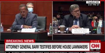 Barr Just Fine With Foreign Election Help, And Police Beating Protesting Vets