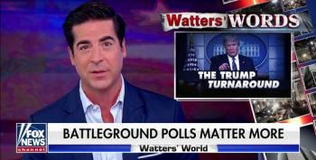 Fox's Watters Claims There's A 'Momentum Shift' In The Polls For Trump
