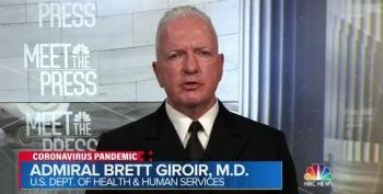 Admiral Brett Giroir: No Benefit To Hydroxychloroquine