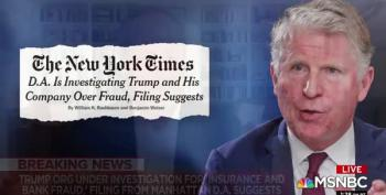 Manhattan DA Investigating Trump For Bank And Insurance Fraud