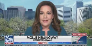 Mollie Hemingway Whatabouts Trump's Election Postponement Tweet