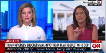 Brianna Keilar Shuts Down Mercedes Schlapp's Lies About Voting By Mail